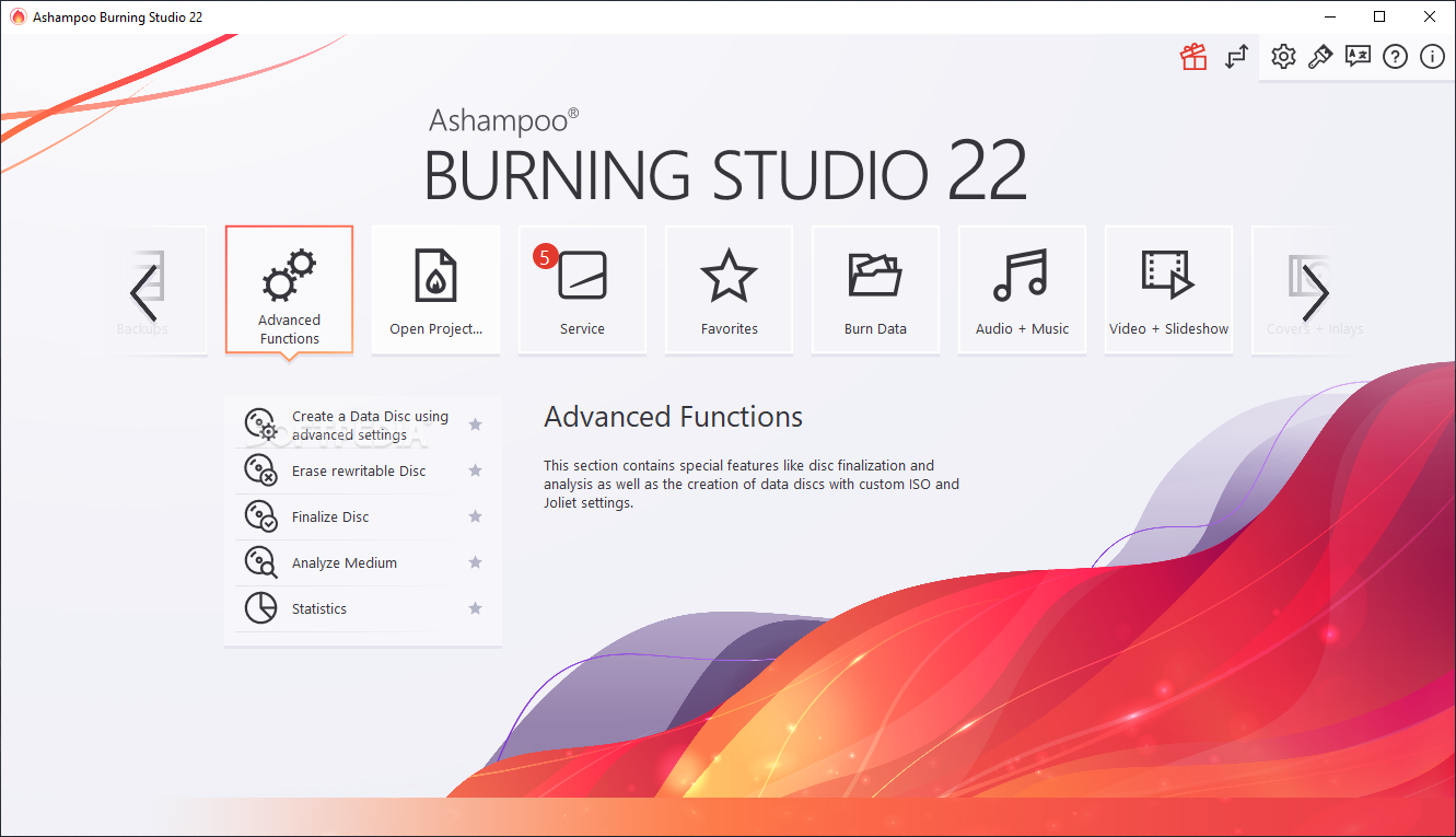 ashampoo burning studio 10 softpedia