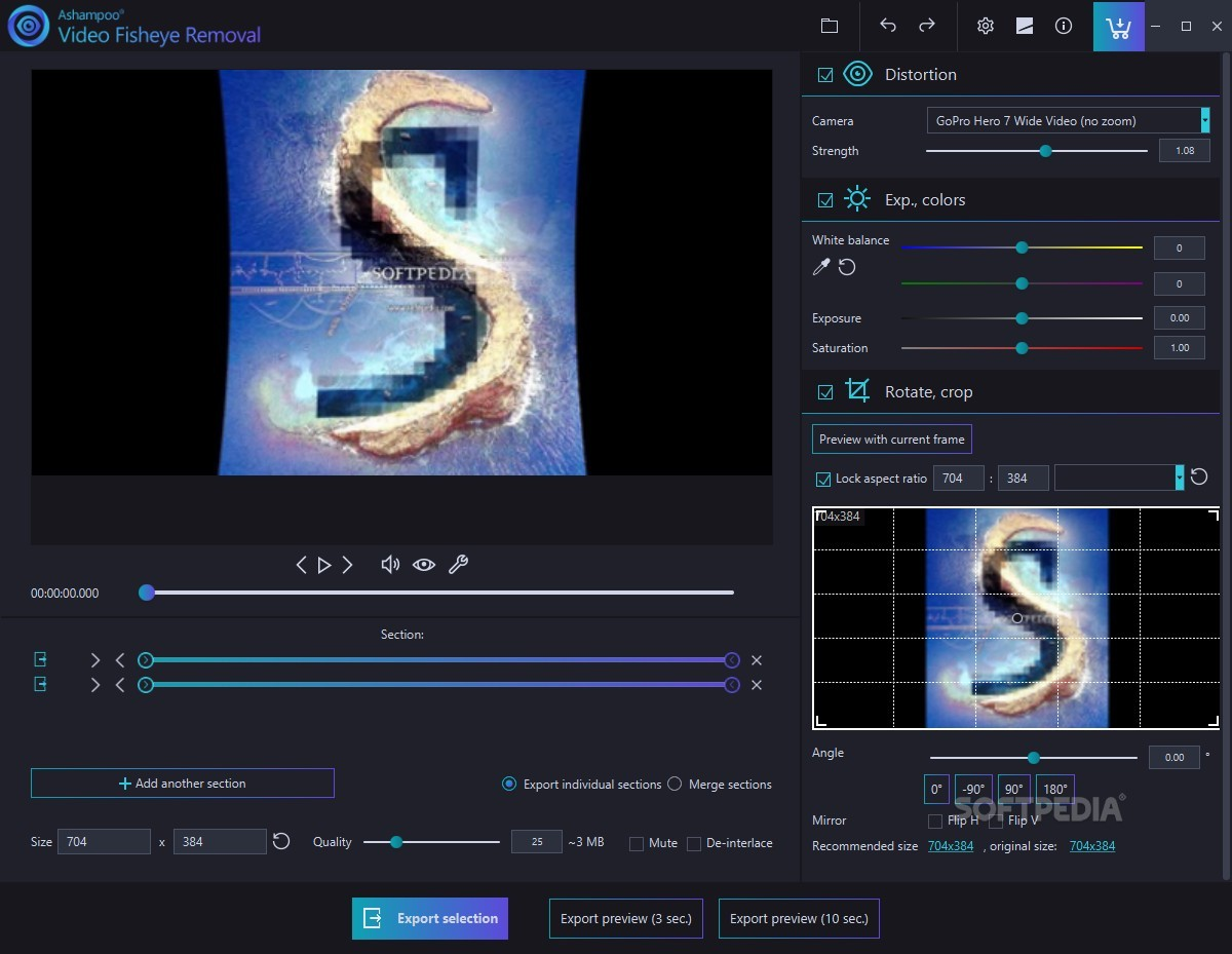 Download Ashampoo Video Fisheye Removal 1 0 0