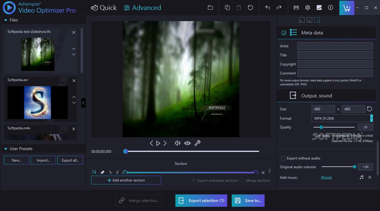Download Ashampoo Video Optimizer Pro 1 0 4