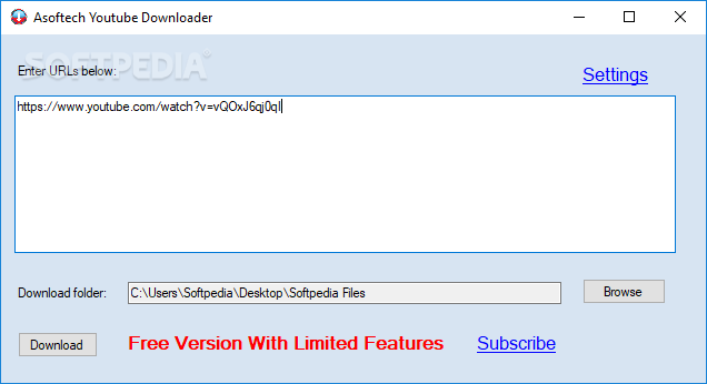 Download Asoftech Youtube Downloader 1 6