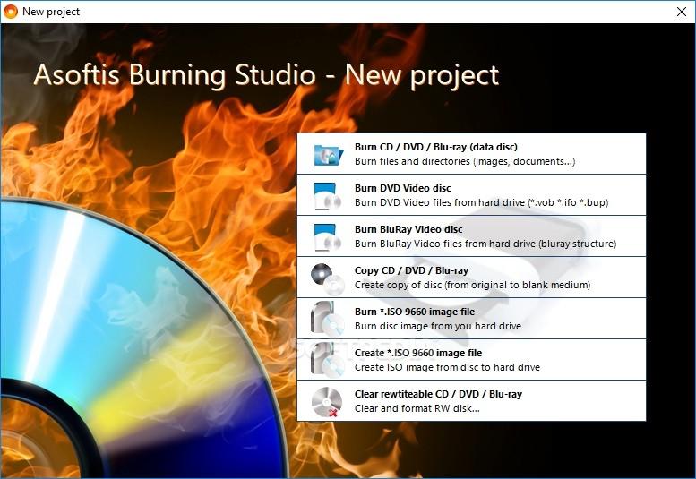 Download Asoftis Burning Studio 1 6