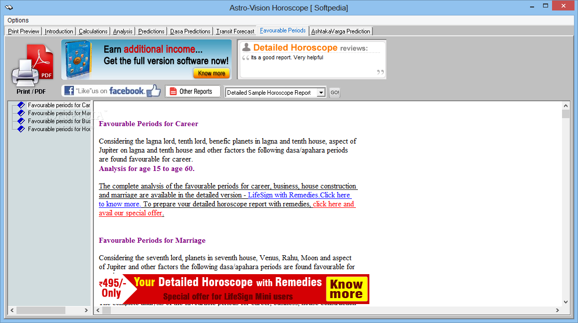 astro vision matching software free download