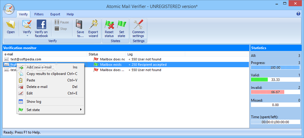 Atomic Mail Verifier 5.30 Crack