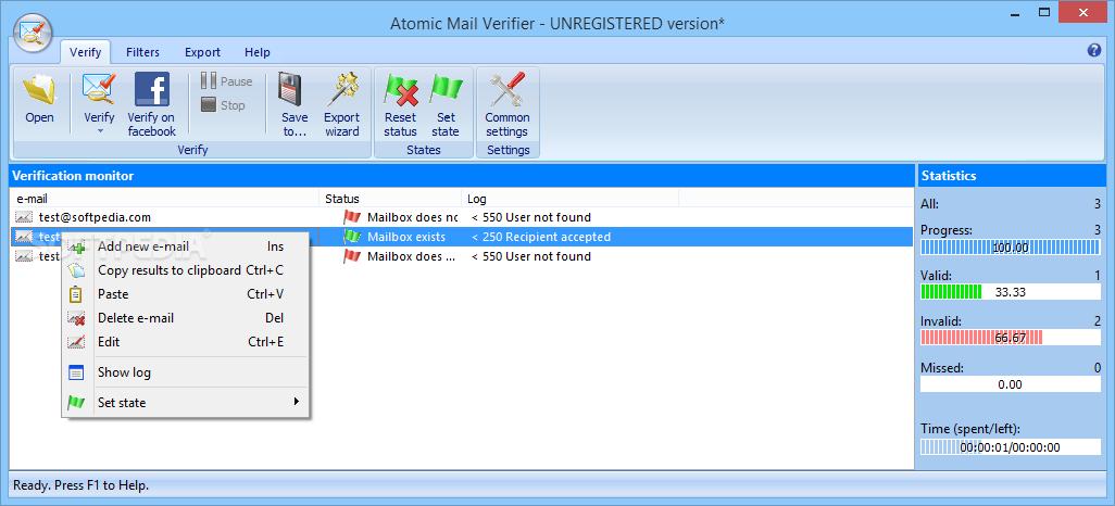 Download Atomic Mail Verifier 9 44 0 115
