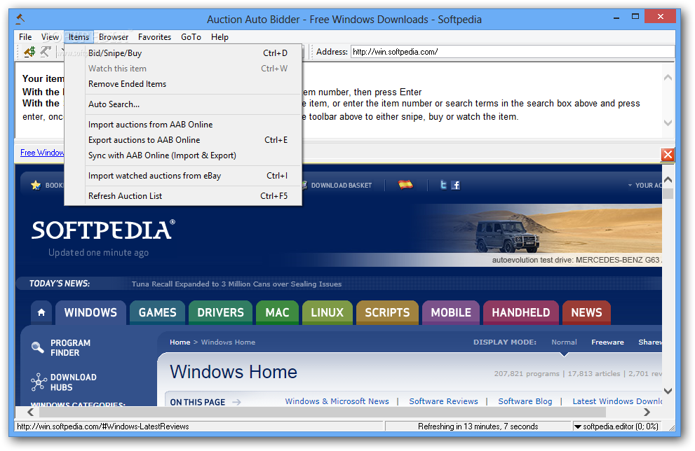 Download Auction Auto Bidder 8 3 Build 1081