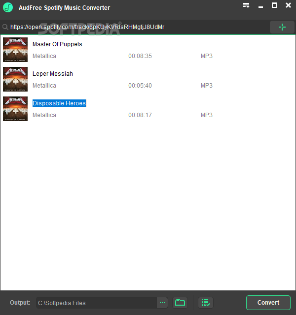 Download AudFree Spotify Music Converter 1 4 0