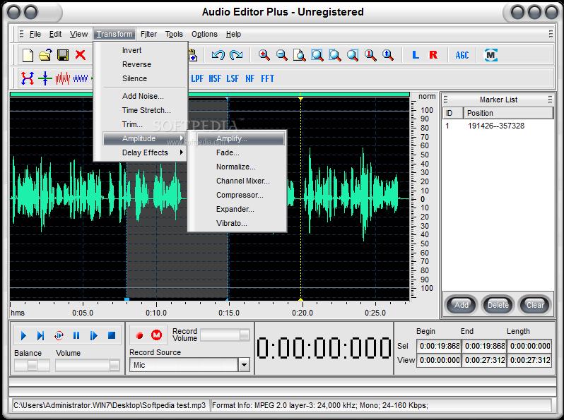 Download Audio Editor Plus 3 41