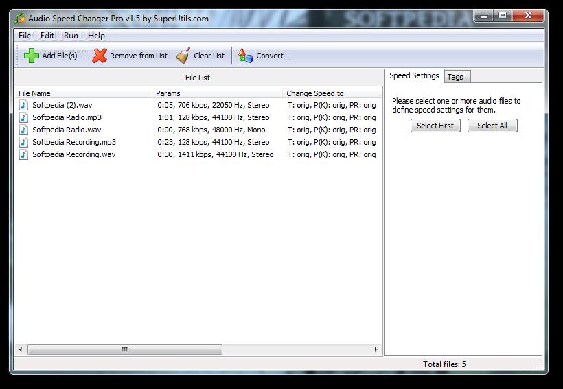 Download Audio Speed Changer Pro 1 5 5 168