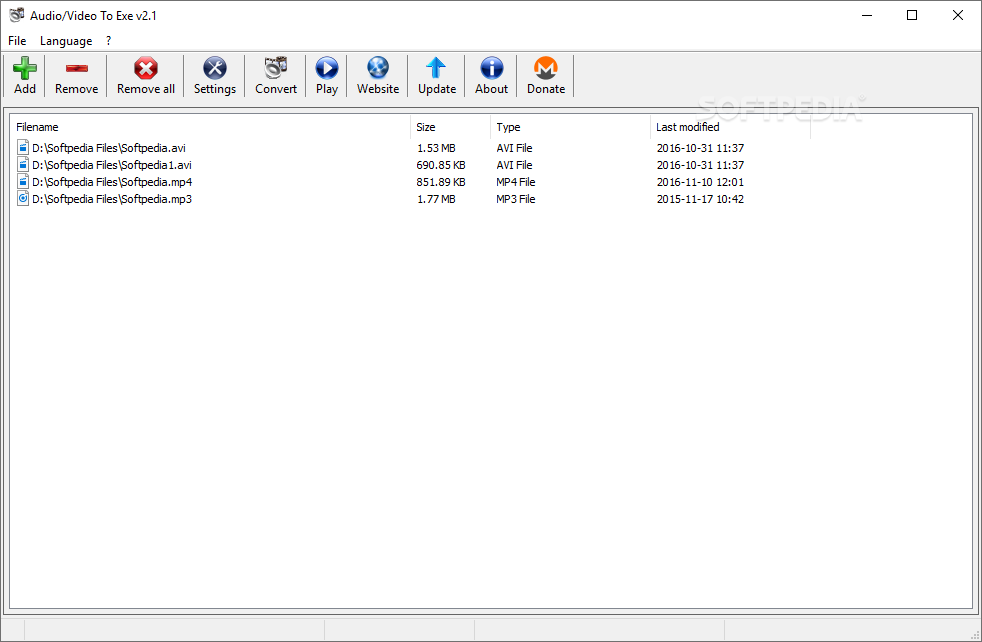 Download Audio/Video To Exe 2 1
