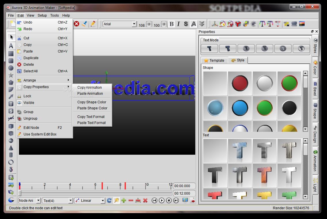 Download Aurora 3D Animation Maker 16 01 07