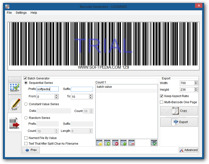Download Barcode Generator 6 01 07