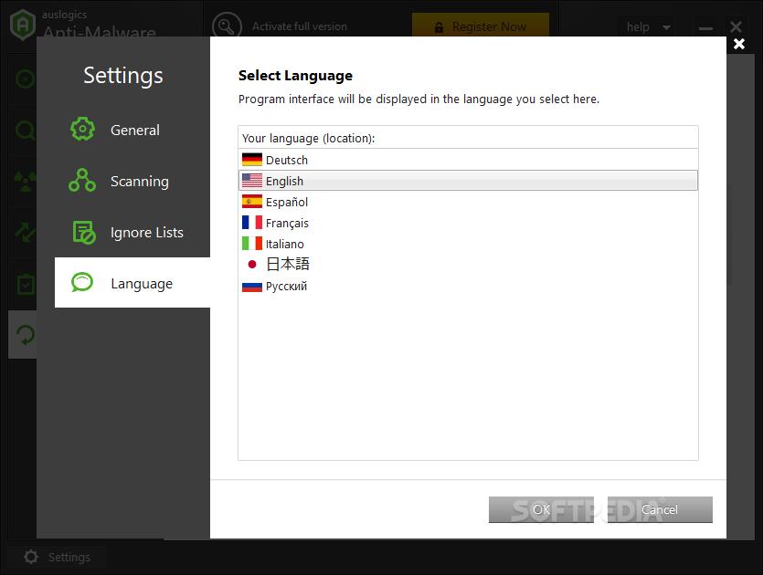 Download auslogics antivirus 16. 25. 0. 1710 (free) for windows.