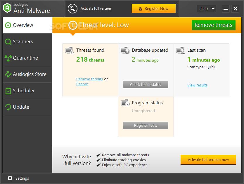Download auslogics antivirus 16. 25. 0.