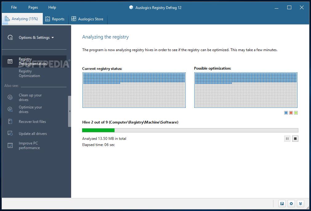 download auslogics registry defrag 11 0 23 0auslogics registry defrag during analysis, auslogics registry defrag will display the number of scanned