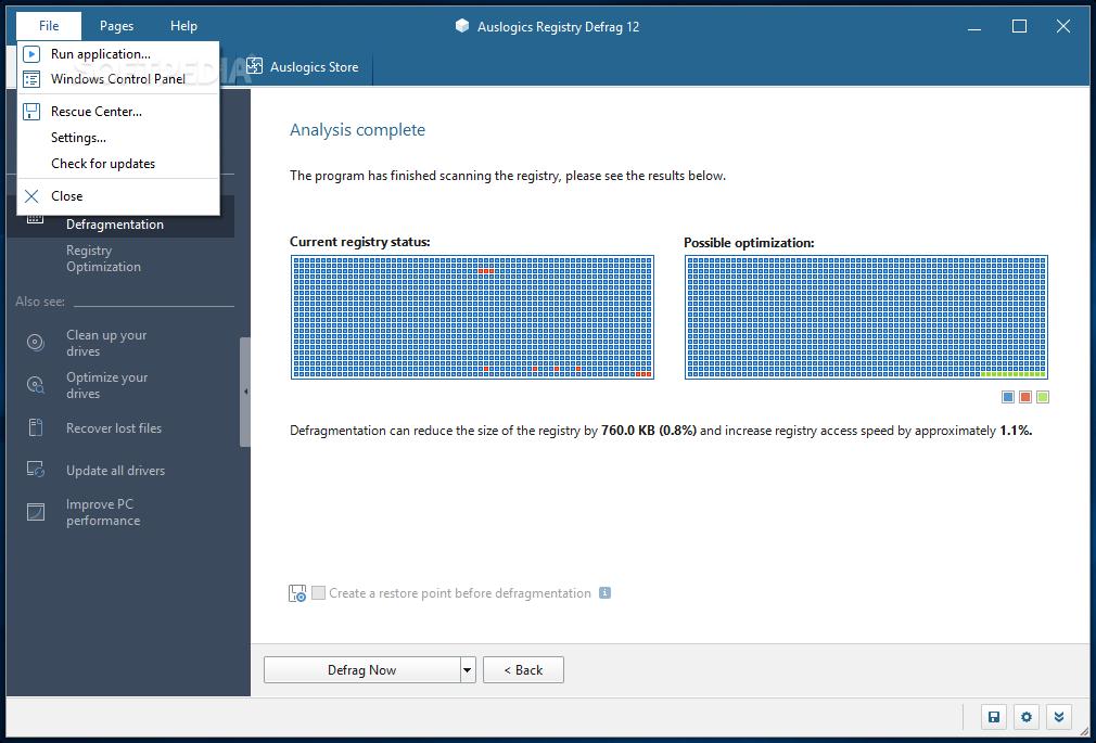 download auslogics registry defrag 11 0 23 0auslogics registry defrag screenshot 4