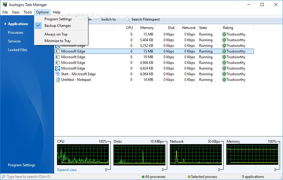 Download Auslogics Task Manager 2 2 1 0