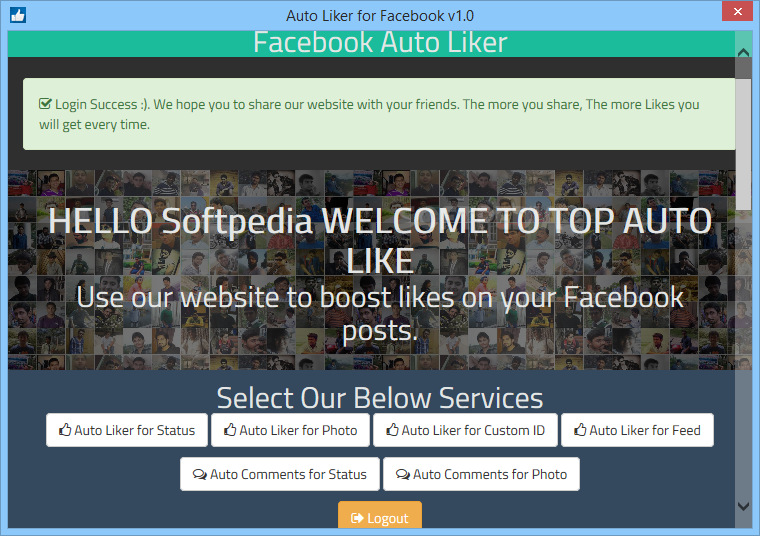 Download Auto Liker for Facebook 1 0
