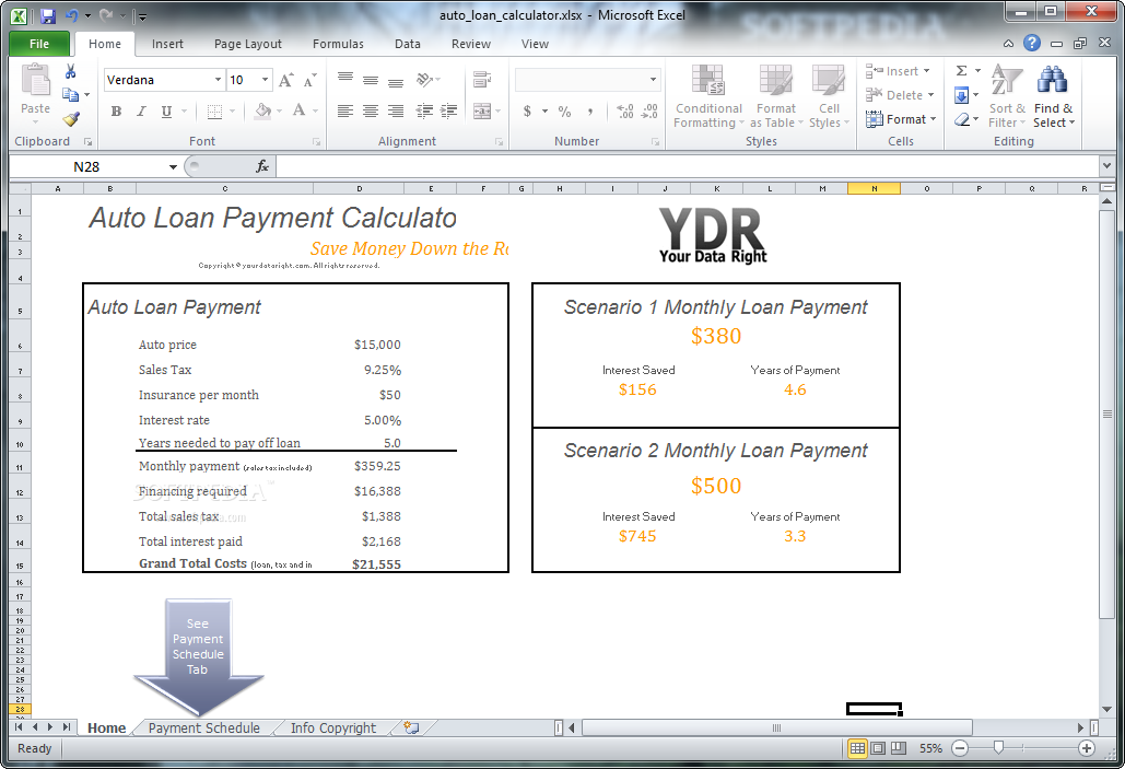 payment calculator mortgage