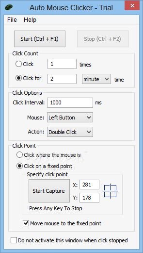 Download Auto Mouse Clicker 2 1 1 4