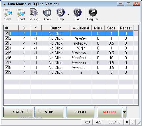 Auto mouse click download.