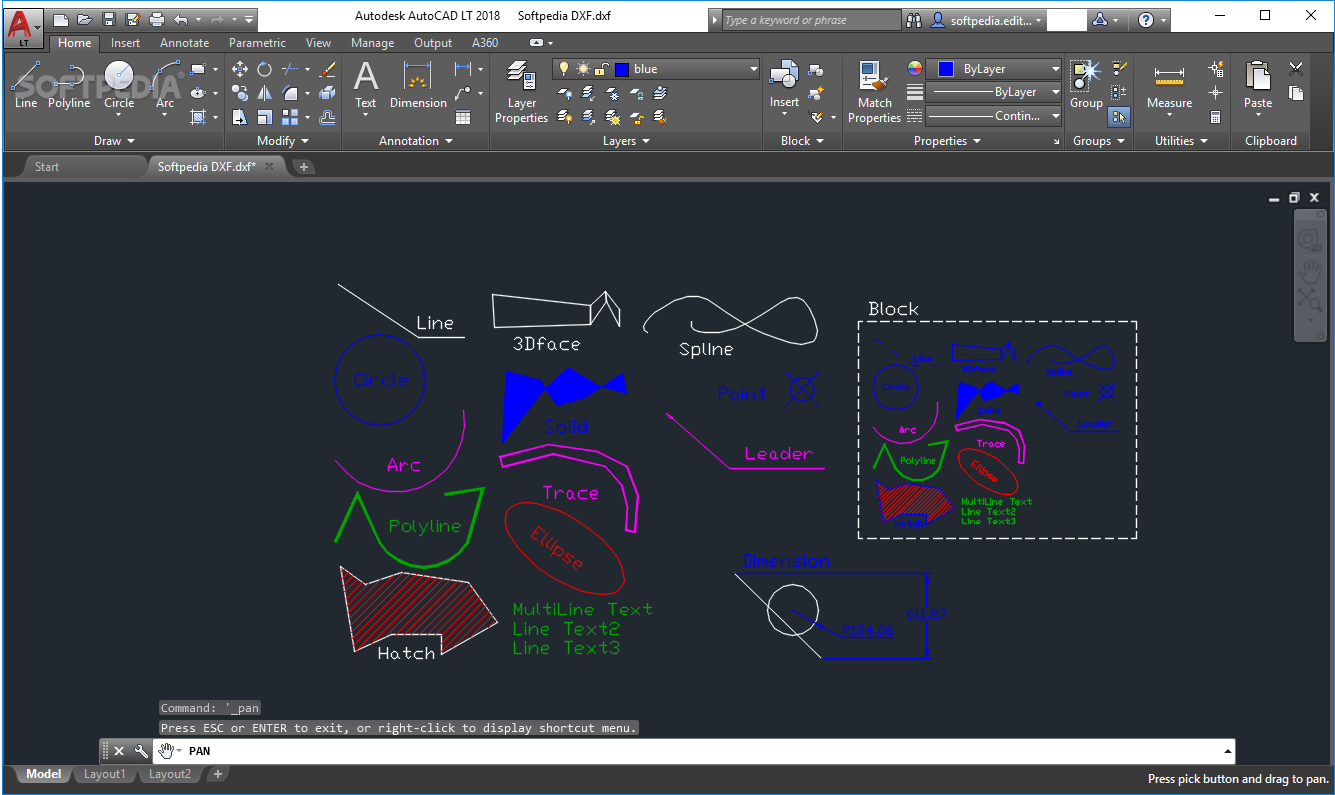 Download AutoCAD LT 2020