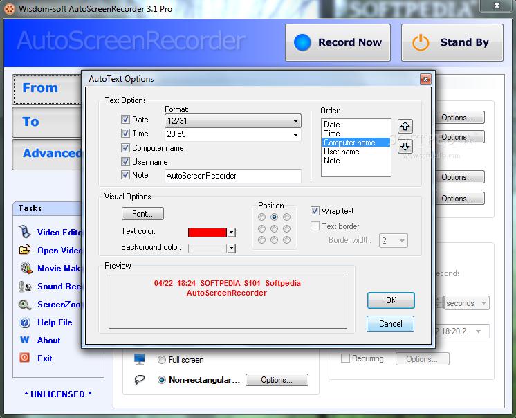 AUTOSCREENRECORDER 3.1 FREE BAIXAR