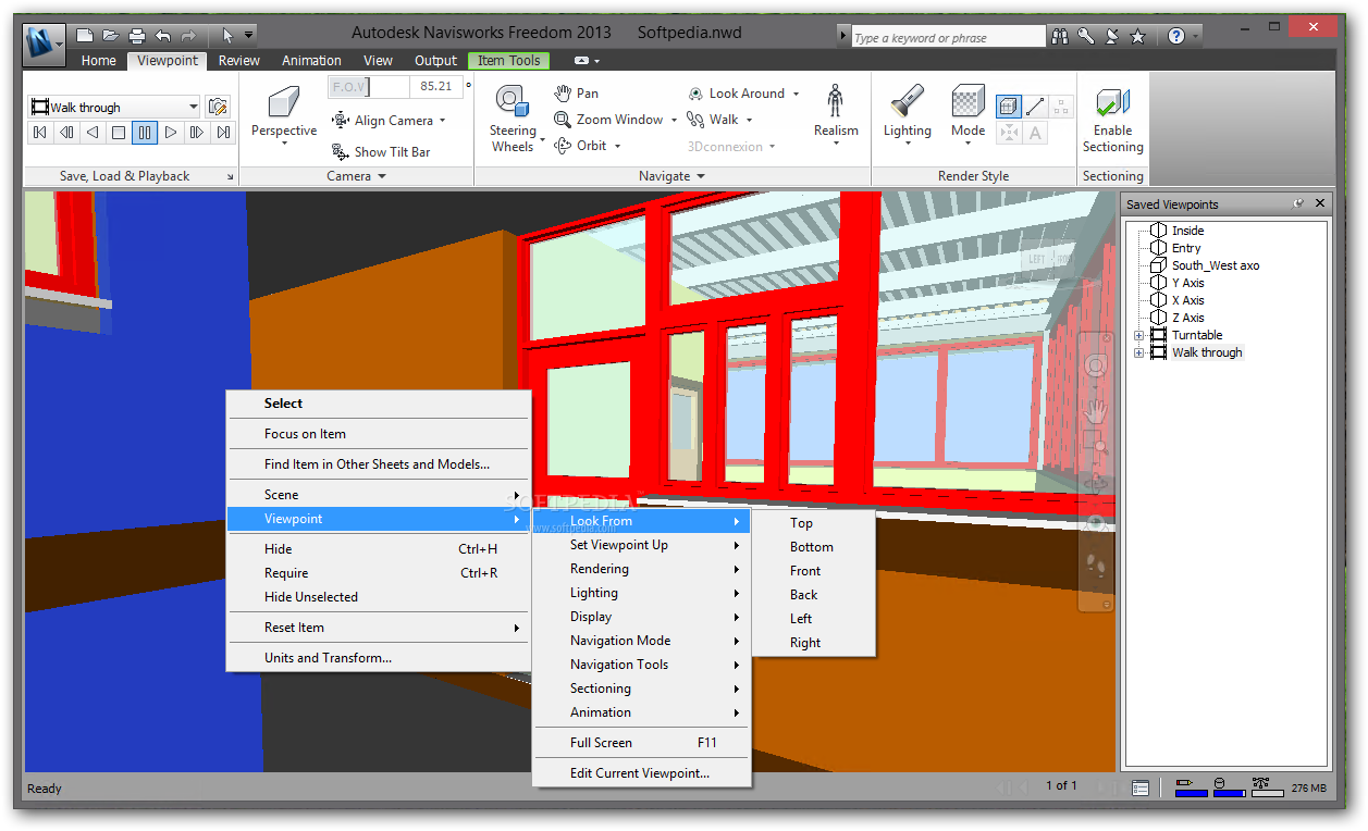 Autodesk Navisworks Manage lets you reliably share, combine and review deta