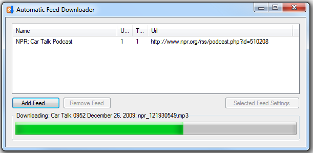 Download Automatic Feed Downloader