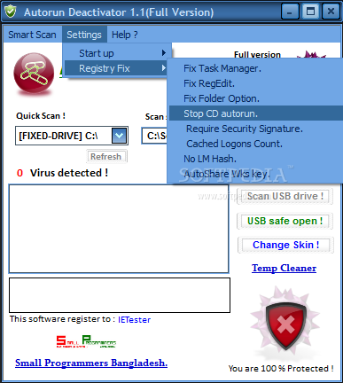 how to get disk part to detect a flash drive