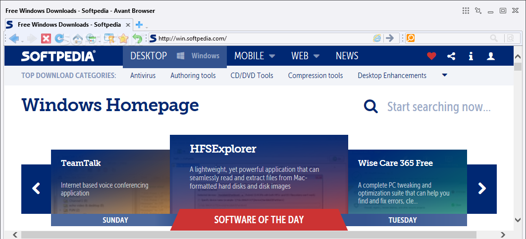 Download - Avant Browser - The full-featured tri-core ...