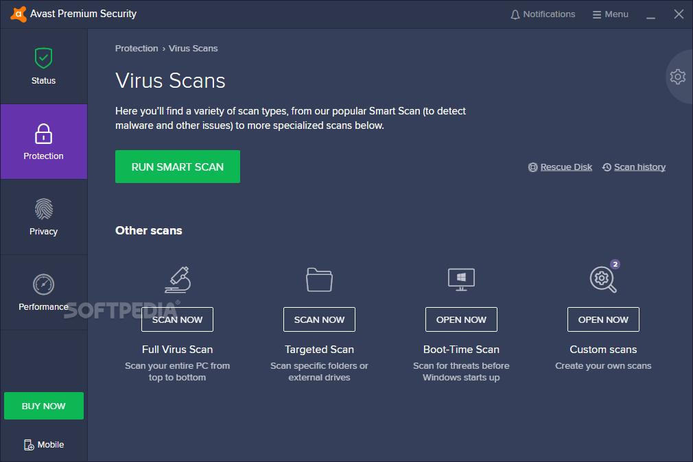 Download Avast Premium Security 19 7 2388 / 19 8 2390 Beta