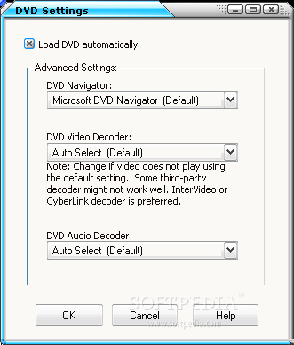Avex DVD to Mobile Video Suite screenshot 5 - In DVD settings, you can chan