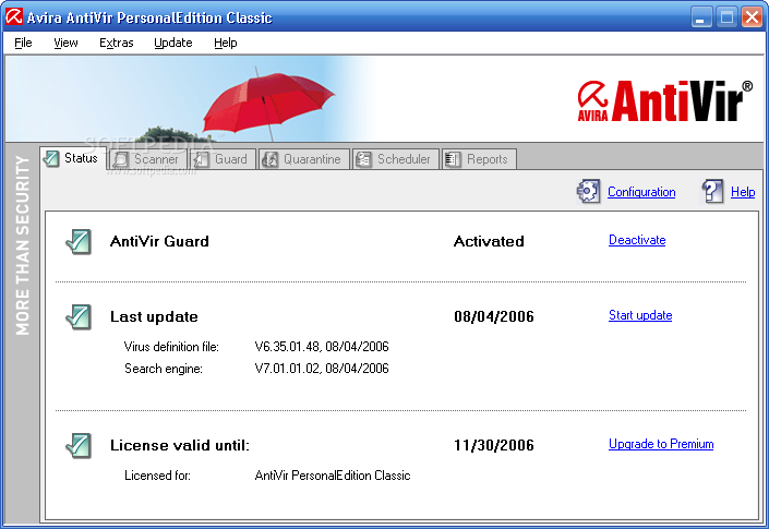 AVIRA Antivirus Definition Update July 22 2019