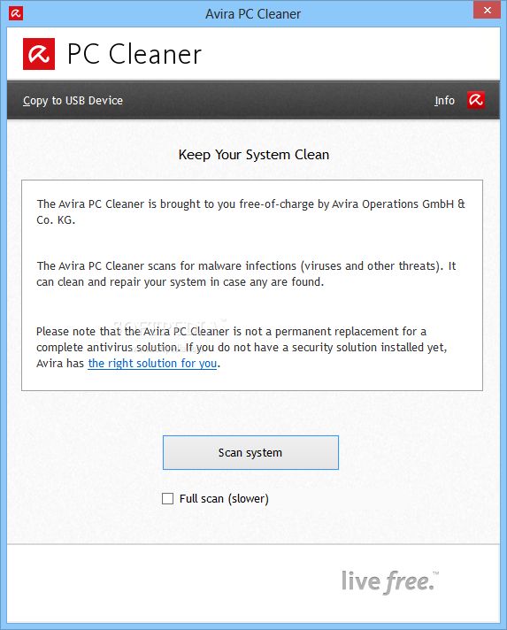 the antivirus solution installed on your computer is cleaning