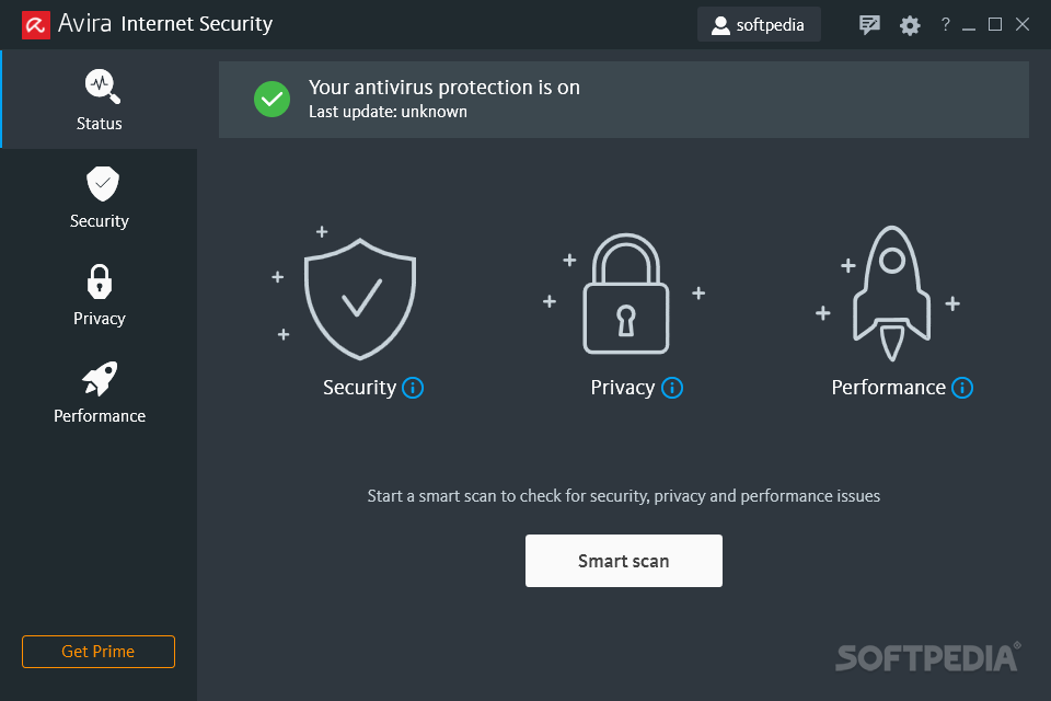 Avira Internet Security [DISCOUNT: 20% OFF!] screenshot 1 - Avira Internet Security will help you protect your computer in a comprehensive way against the dangers from the Internet