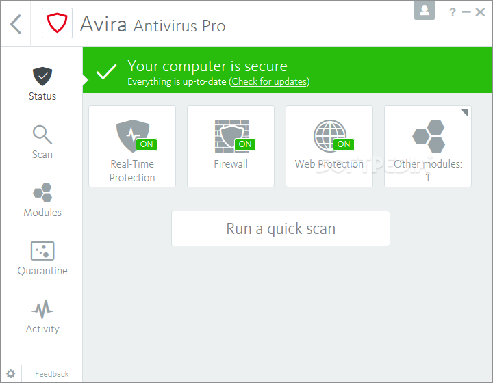 Avira Internet Security [DISCOUNT: 20% OFF!] screenshot 23