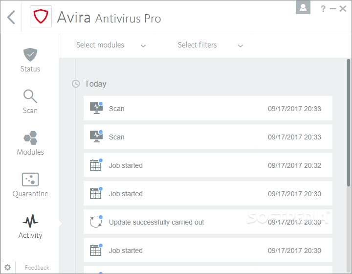Avira Internet Security [DISCOUNT: 20% OFF!] screenshot 33