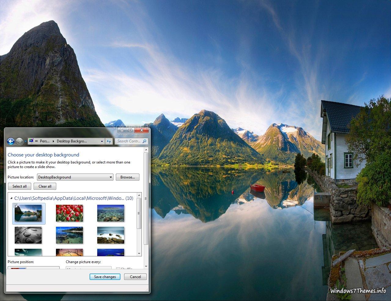 windows Desktop 7 nature
