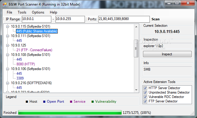 Download B&W Port Scanner 4 0