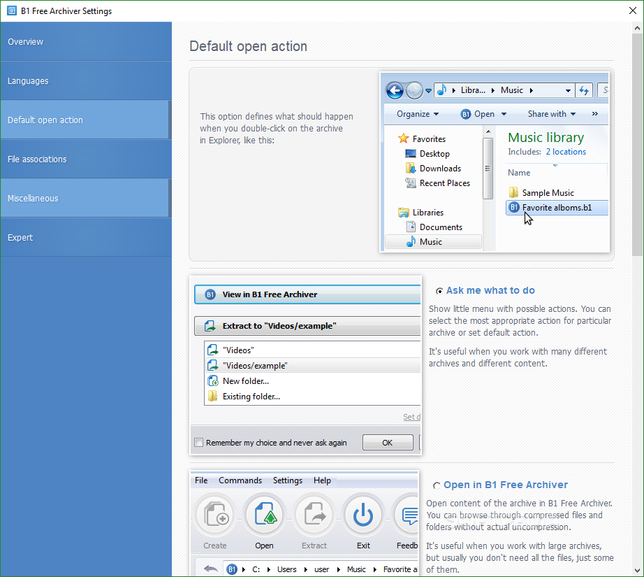 Download B1 Free Archiver 1 7 122 0
