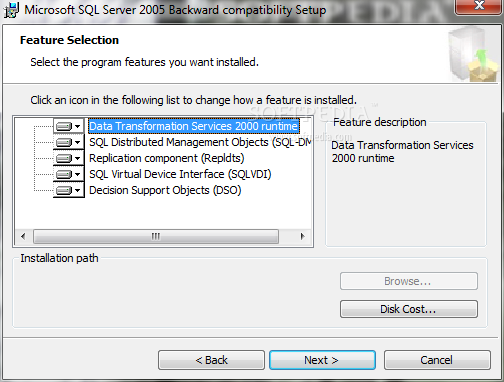 What is sqlserver2005_bc. Msi and how to fix it? Virus or safe?