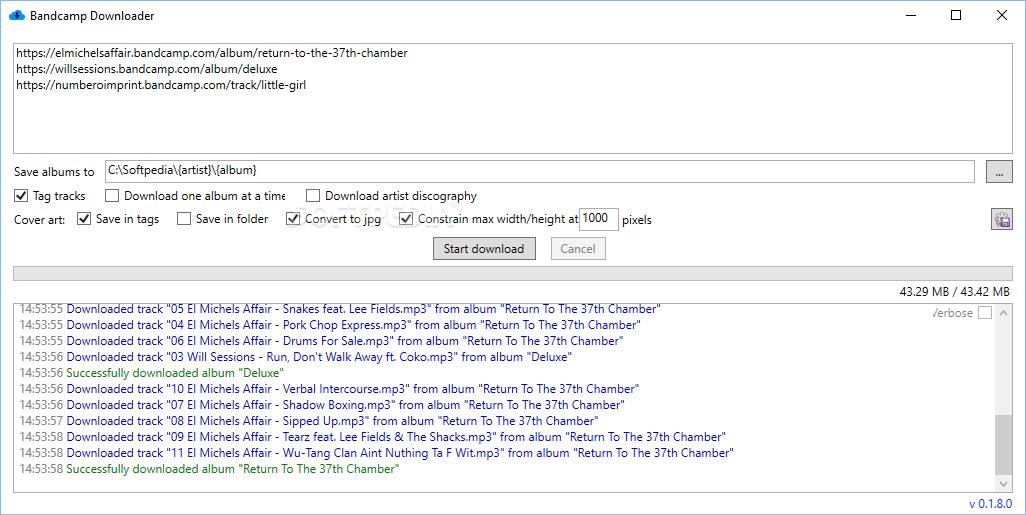 Download Bandcamp Downloader 1 3 0