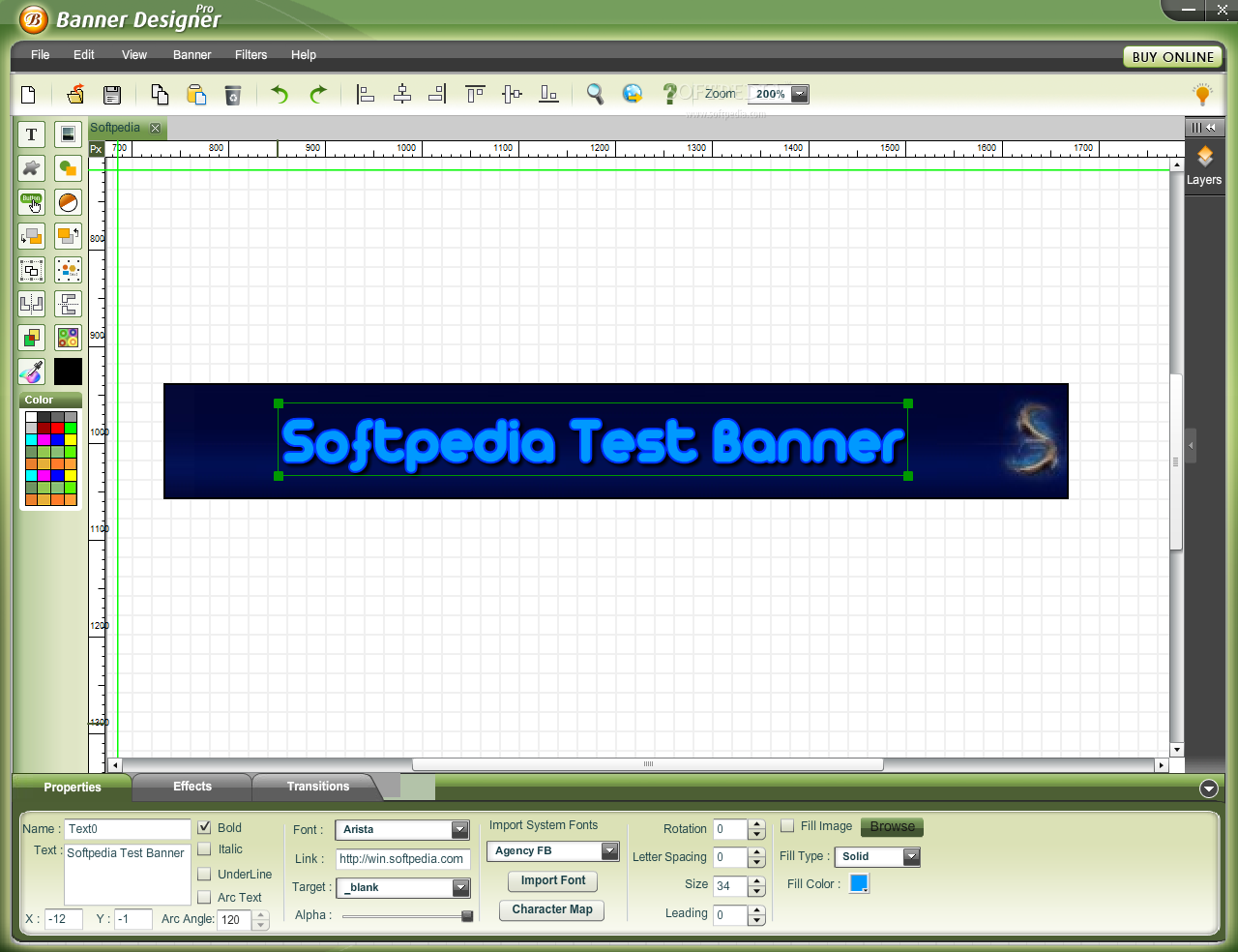 Create your own animated web banners