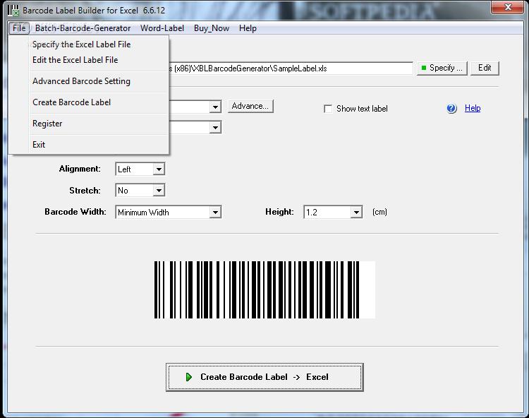 Download Barcode Label Builder 6 6 12