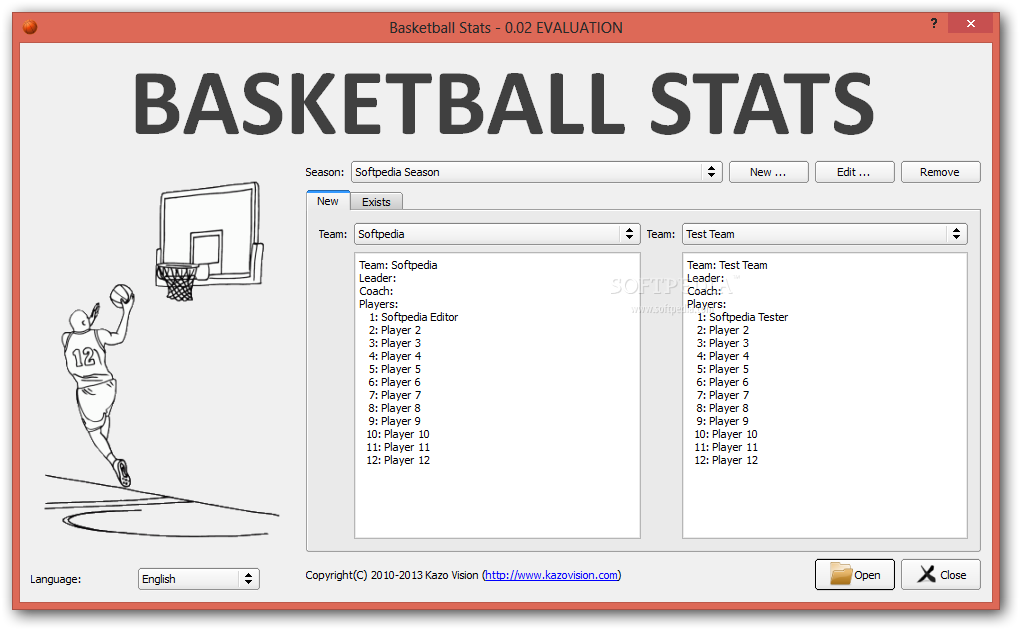 Basketball Stats Download