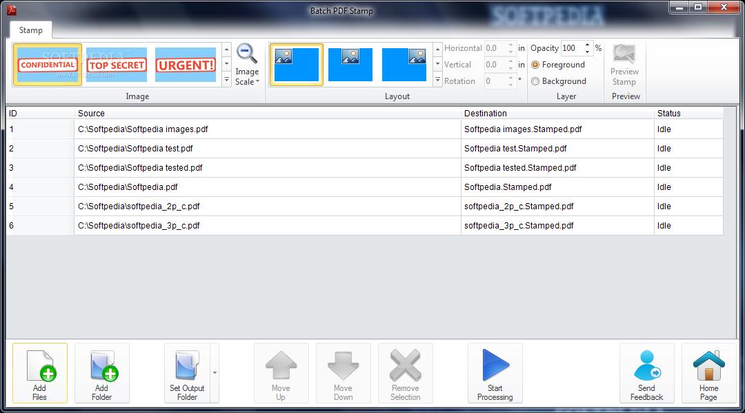Can Adobe Acrobat Pro XI stamp a batch of pdf files ...