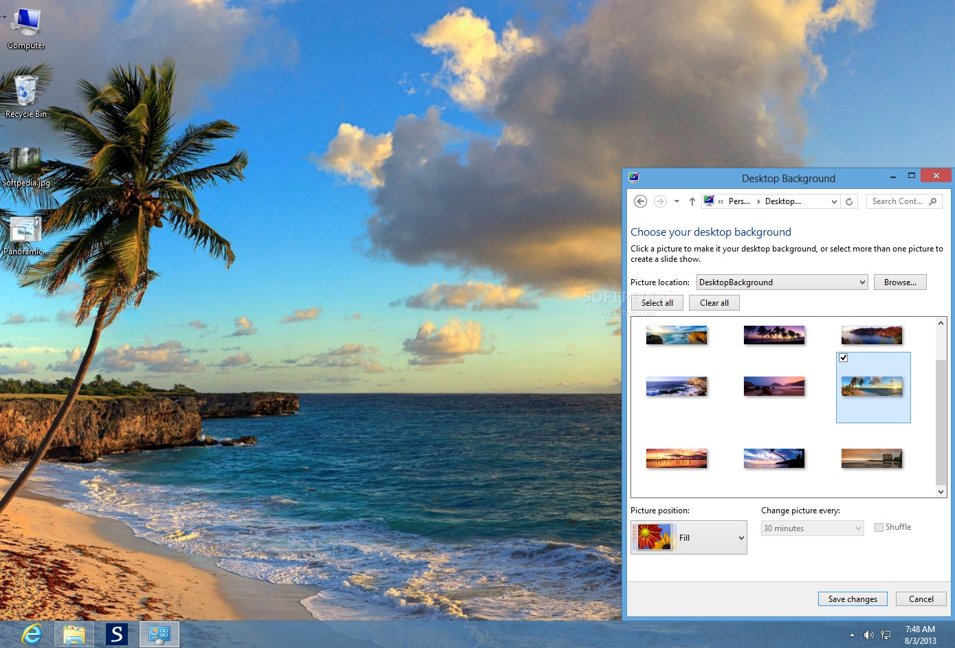 download beaches panoramic theme