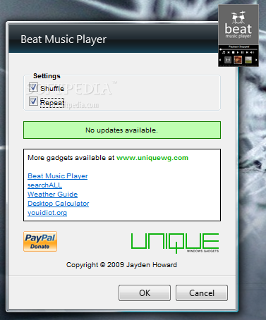 how to play songs continuously in windows media player