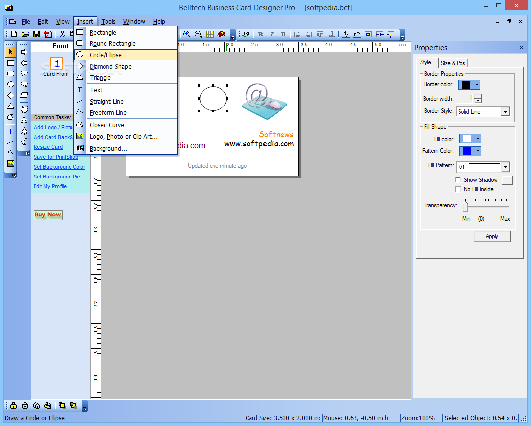 Belltech business card designer pro v5410 setup and patch for Business card designer pro