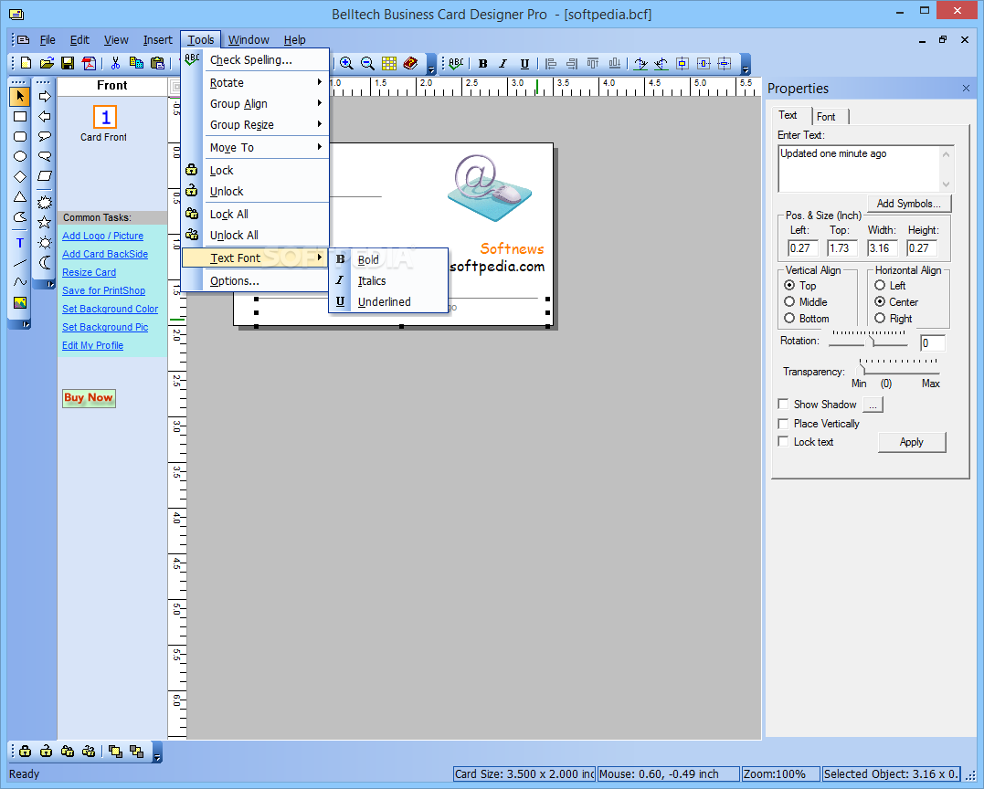 Download Belltech Business Cards Designer Pro 5.4.1